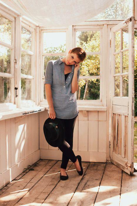 Emma Watson. cute outfit
