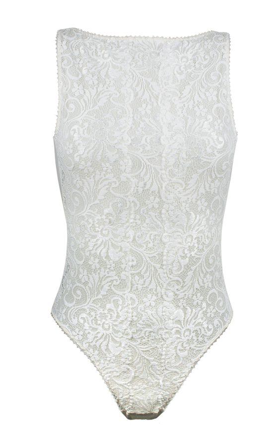 Lace Bodysuit by La Maison Nouvelle | Moda Operandi: