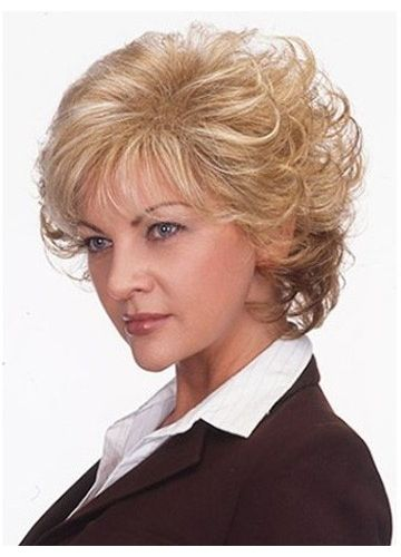 Andie Shaggy Curly Synthetic Wig