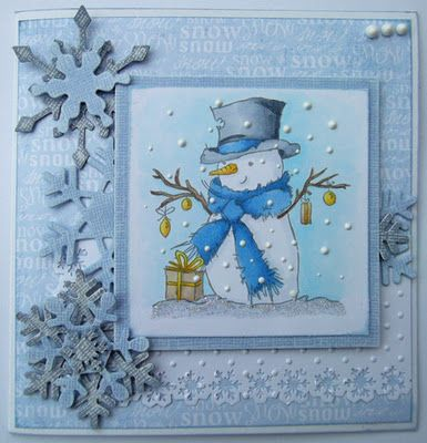 Snowman Card I have a weakness for snowmen!