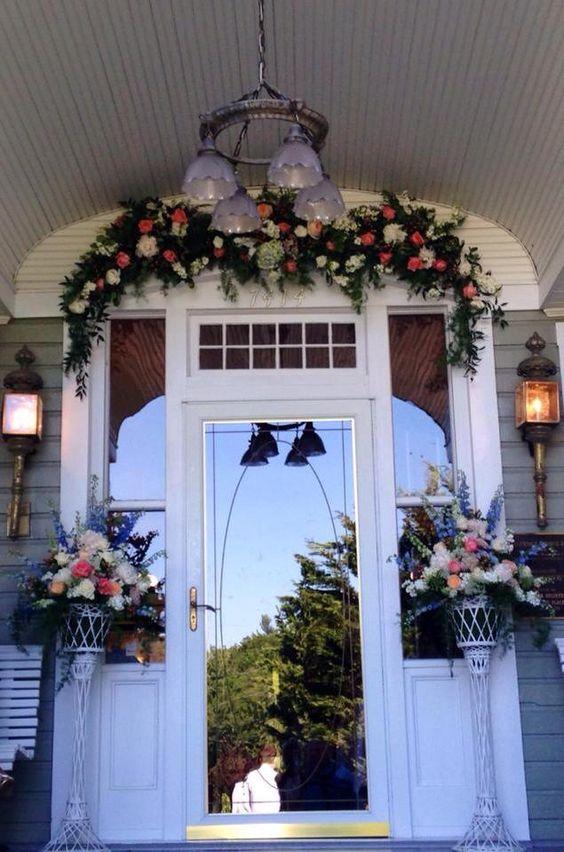 Glendale Springs Inn, Flowers by Arthur's Flower Cart, Lynchburg, VA