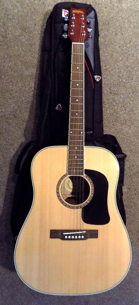 Washburn D9C Acoustic Guitar With Tour Grade Gig Bag #Washburn