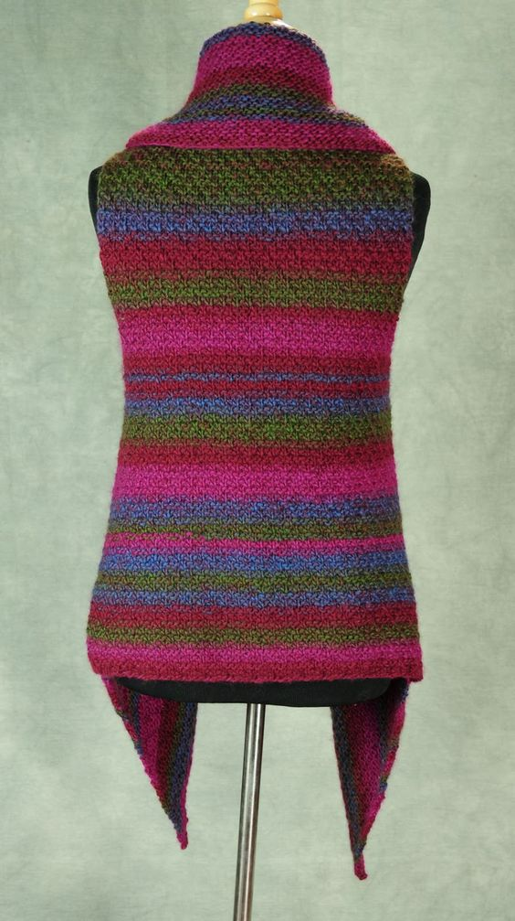 How to become a Professional Knitter - Robin Hunter Designs: The Prudence Crowley Vest
