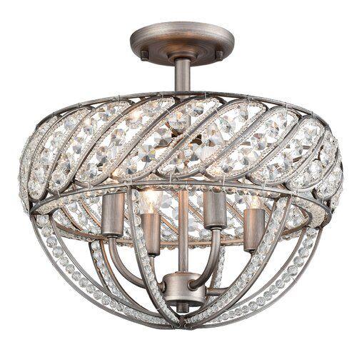 Boylan 8 Light Unique Statement Globe Chandelier Semi Flush Ceiling Lights Elk Lighting Modern Flush Mount Lighting