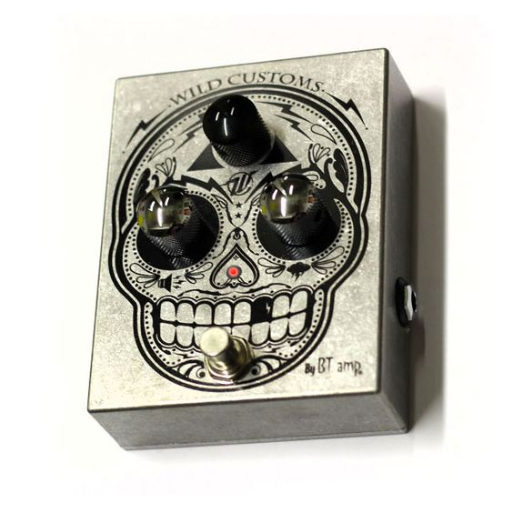 WILD CUSTOM GUITARS DIA DE LOS OVERDRIVE