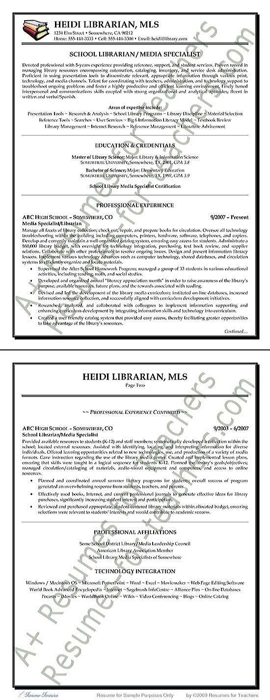 Example Of Librarian Resume - http\/\/resumesdesign\/example-of - high school basketball coach resume