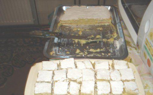 Retete Culinare - Prajitura cu crema de lamaie