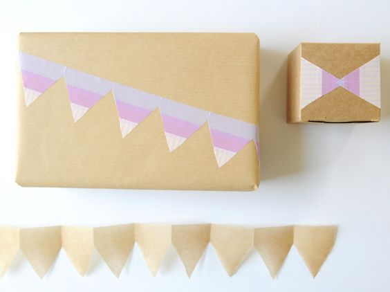 masking tape borders how-to