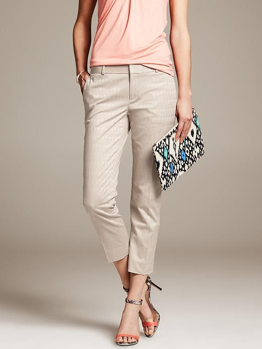 Tan Pants Capri And The Fix On Pinterest