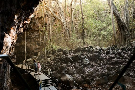Undara Lava Tubes Journey