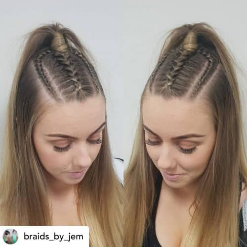 10 Ridiculously Easy Hairstyles For School 2021 Tutorials Included Easy Hairstyles Hairstyles For School Back To School Hairstyles