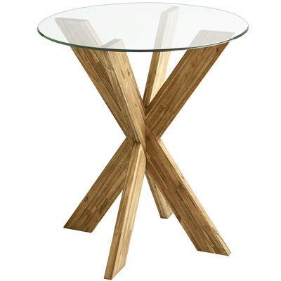 Fresh Modern Glass Bar Table
