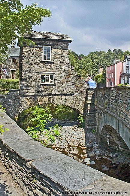 The Bridge House, Ambleside, the Lake District, Cumbria. Built on a bridge to avoid land tax.
