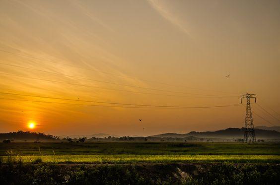 Sunrise | Rural Scape | Bukit Sekechong | Kedah | Malaysia