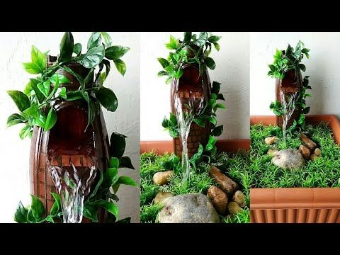 How To Make Wonderful Fountain Very Easy Youtube Small Space