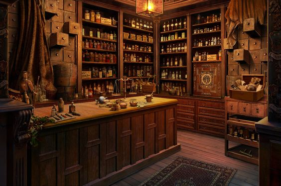 Pharmacy by RealNam.deviantart.com on @deviantART