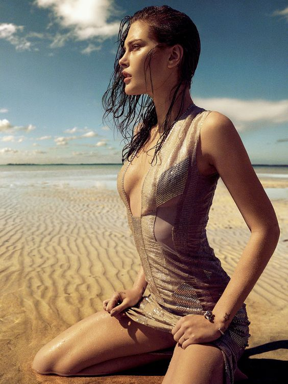 "Catherine McNeil "" Siren Songs "" by Greg Kadel Vogue España May 2015"