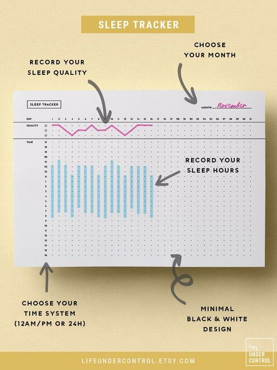 Sleep Tracker PDF | A4 & US Letter | Binder Printables | Health Tracker, Life Organizer, Sleeping Journal, Monthly Goal Tracker Insert * * * * * Stay healthy this month thanks to this sleep tracker PDF! Print it and add it to your routine health tracker or life organizer :)