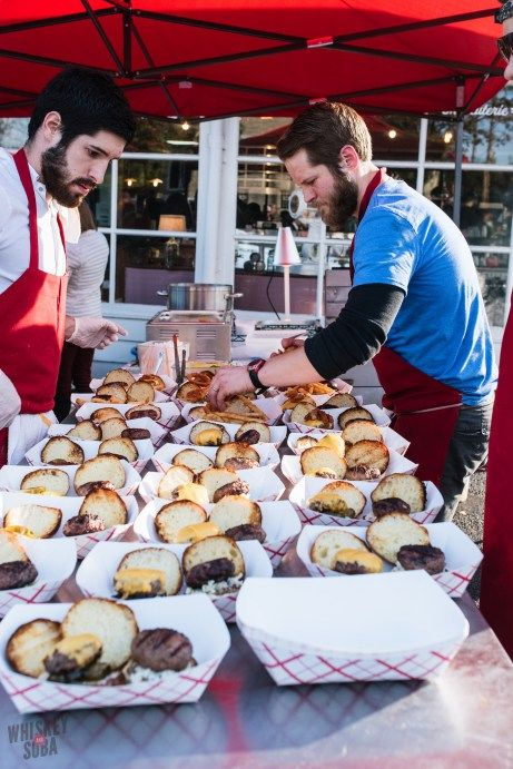 The Bolyard's Meat & Provisions Burger Battle returned with Josh Poletti of Pastaria facing off against Sidney Street's Justin McMillen.