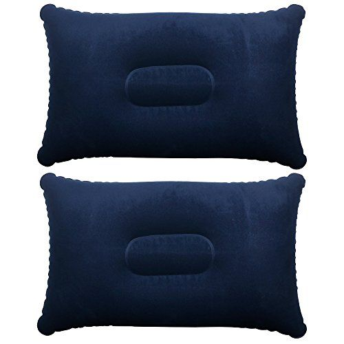 Trixes Inflatable Pillow For Travel Or Camping Blow Up Pillow Twin Pack Uksportsoutdoors Inflatable Pillow Camping Inflatable Pillow Pillows