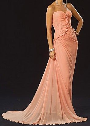 Rose covered ball gown by esaro1820 on Etsy, $375.00