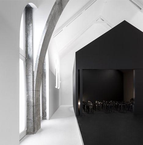 Architecture studio Spaceworkers / cultural centre / Portugal / #black and #white