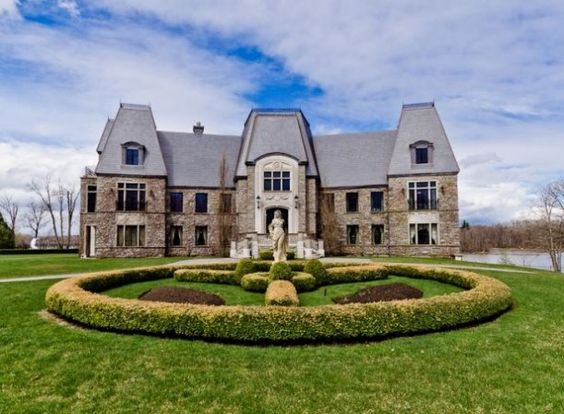 "Celine Dion is one of those superstars who does everything up big, from her wedding to her ballads. Remember her $20 million ""waterpark house"" in Florida? Well, this 24,000 square-foot French Normandy-style chateau built on a private island near Montreal is pretty over the top, too. She's selling it for about $29 million–take a look!"