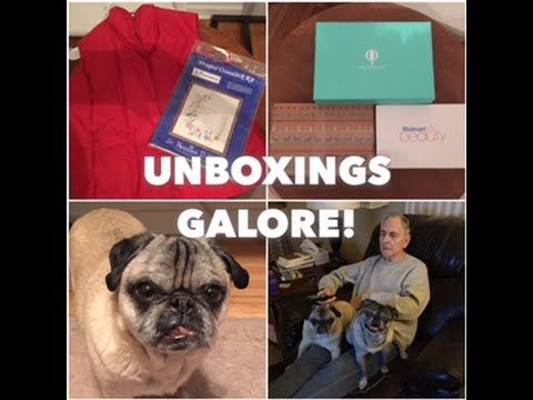 UNBOXINGS GALORE! 12 Days of Christmas Vlog #2