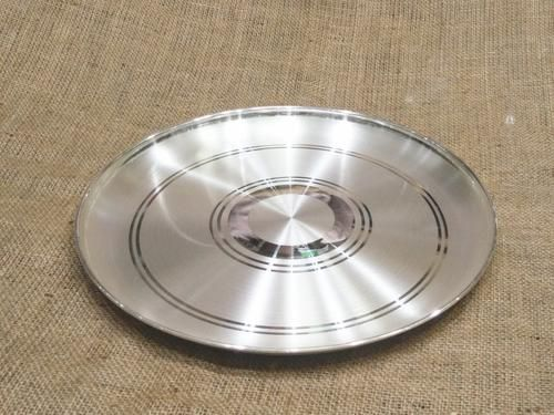 Buy Pure Silver Dinner Set Plate Online India Silver Plate Silverstore In In 2020 Silver Plate Plates Dinner Plate Sets