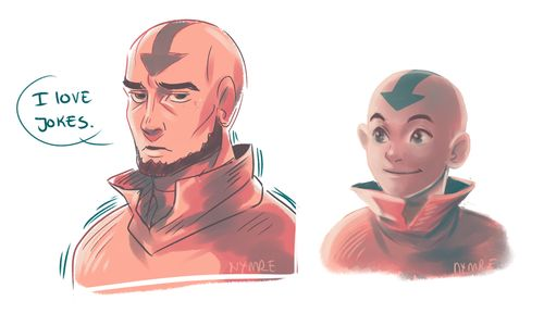 aang by http://nymre.tumblr.com/