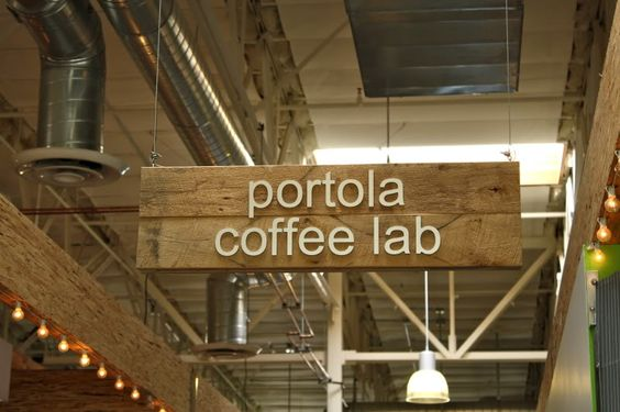 Portola Coffee Lab, CA unk and aunt say it is exceptionally amazing