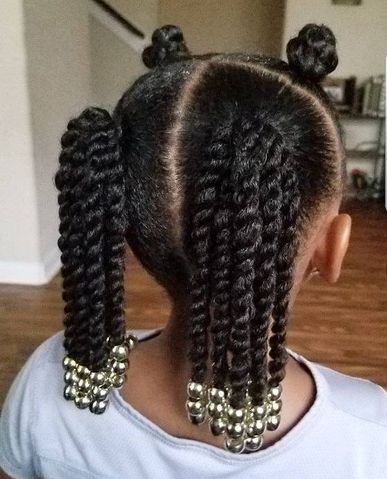 10 Holiday Hairstyles For Natural Hair Kids Your Kids Will Love Natural Hairstyles For Kids Black Kids Hairstyles Kids Braided Hairstyles