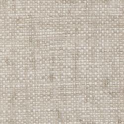 Thibautu0027s Bankun Raffia textured vinyl wallpaper in Grey from Texture  Resource Volume 3 - detail view