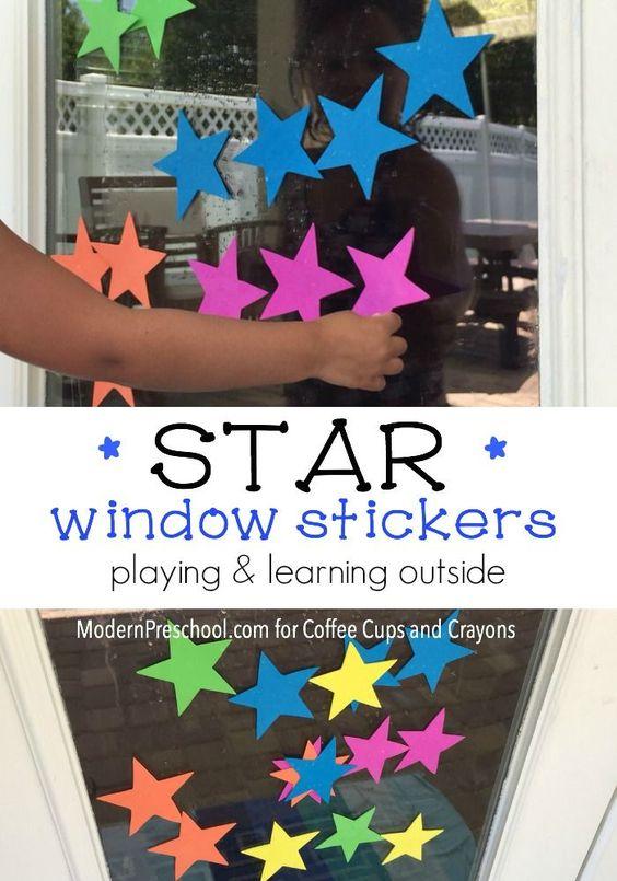 Window art for kids window window art and craft
