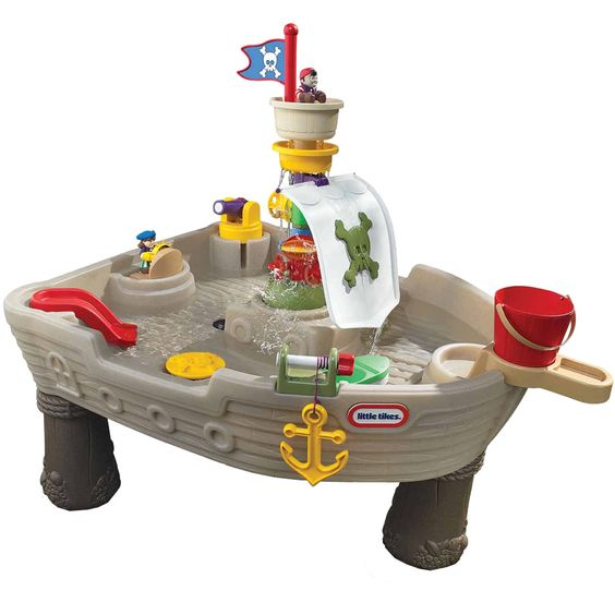 first birthday present? sand and water table