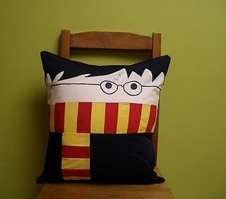 Harry Potter Pillow  @crafts
