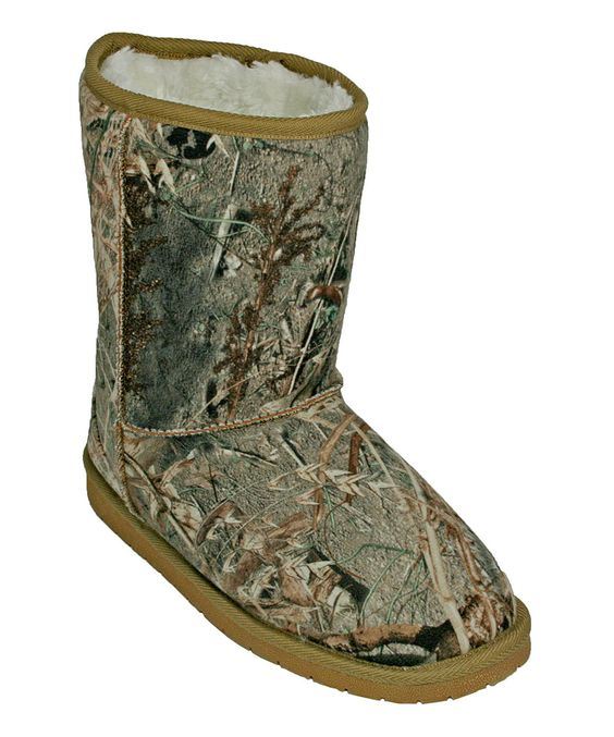 Look what I found on #zulily! DAWGS Duck Blind Mossy Oak Boot by DAWGS #zulilyfinds