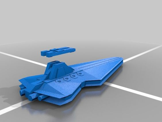 Venator-class Star Destroyer by DarthDrakon - Thingiverse