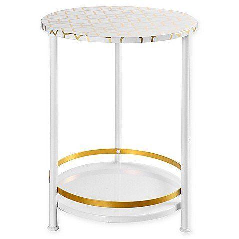Round Side Table Round Side Table Side Table Dorm Room Furniture