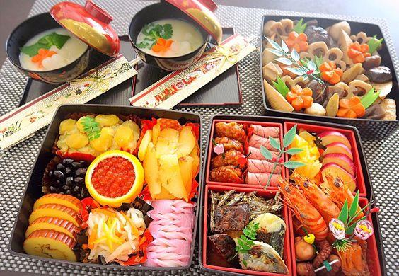Rie's dish photo おせち料理   http://snapdish.co #SnapDish #お正月 #朝ご飯 #お昼ご飯 #晩ご飯