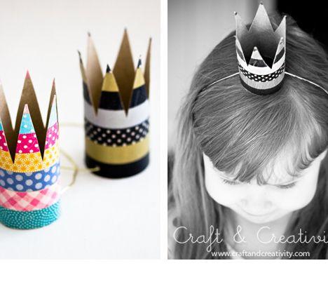 Coronas para los reyes de la casa - Manualidades para niños - Página 2 - Charhadas.com