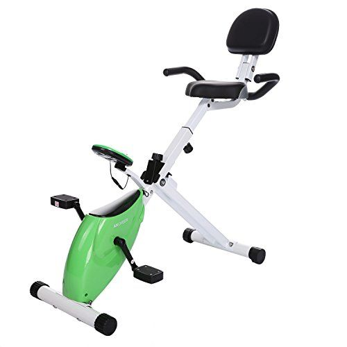 Ancheer Folding Recumbent Bike Fitness Magnetic Exercise Cycling