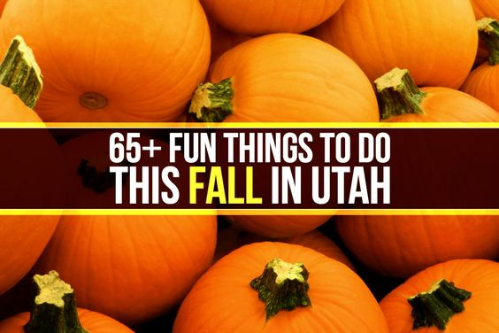 This is the ultimate guide to fun in Utah this fall. From haunted houses to U-pick produce farms, we've got you covered!