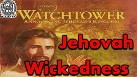 The Israelites: Jehovah's Wickedness Gets Chopped and Screwed!!!