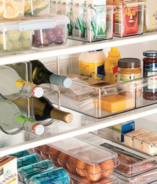Get your fridge organized before the holidays!