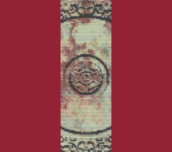 Hey, j'ai trouvé ce super article sur Etsy, chez https://www.etsy.com/fr/listing/77096642/antique-tile-bracelet-perle-motif-agrave