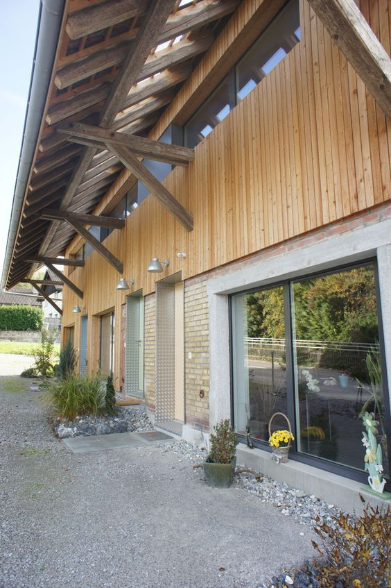Beautiful roof-overhang with natural lighting Gartenlaube - haus renovierung altbau london wird vier reihenhauser verwandelt