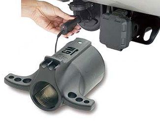 Suburban Trailer Adapter 7 Pin Round to 12V Power Outlet
