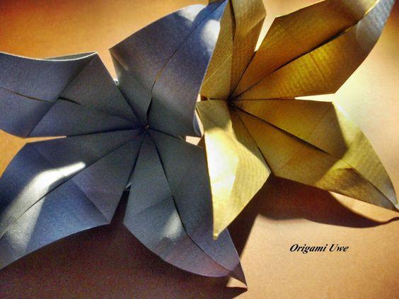 Origami und Fleurogami