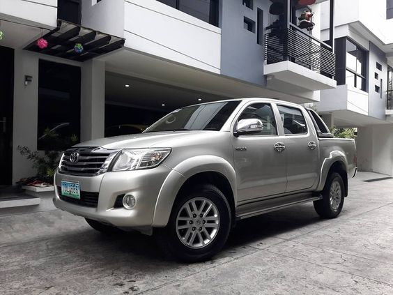 For Sale 2012 Toyota Hilux G 2wd Manual Transmission For Price And